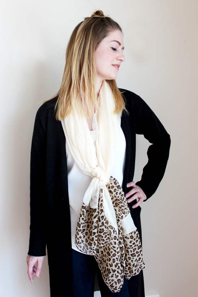 Low Knot scarf
